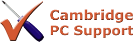 Computer Repair, Services and Support in Cambridge Logo